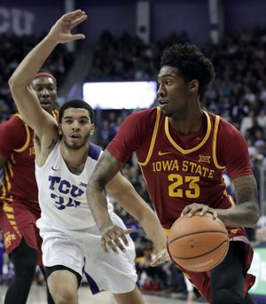 No. 24 TCU snaps 3-game skid with 96-73 over Iowa State